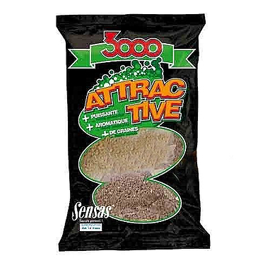 Прикормка Sensas 3000 Attractive Roach (1 кг)