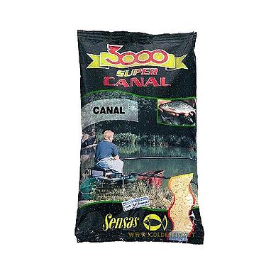 Прикормка Sensas 3000 Canal Noire fine texture (1 кг)