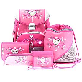 Набор школьный Hama Step by Step Pink Romance 5 предметов (ортопедический)
