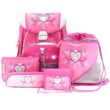 eae47a798aa5 Набор школьный Hama Step by Step Pink Romance 5 предметов (ортопедический)  ...