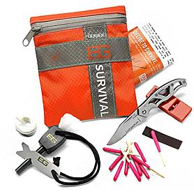 Фото 1 к товару Набор для выживания Gerber Bear Grylls Basic Kit в блистере