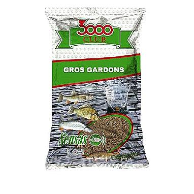 Прикормка Sensas 3000 Gardons Big roach black (1 кг)