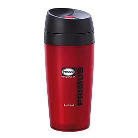 Фото 1 к товару Термокружка пластиковая Primus Commuter Mug 400 мл красная