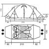 Палатка двухместная RedPoint Illusion 2 штормовая - фото 3