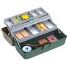 Ящик Plastica Panaro 118/2  2-х полочный с местом под катушку 335x153x148 мм - фото 2