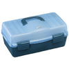 Ящик Plastica Panaro 136 4 полки на 2 стороны 460x282x221 мм - фото 1