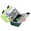 Ящик Plastica Panaro 138 6 полок на 2 стороны 460x282x253 мм - фото 2