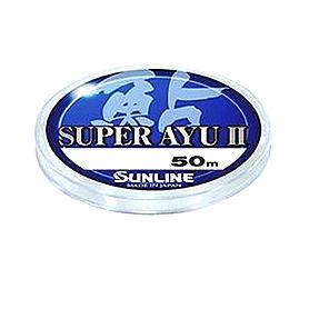 Фото 1 к товару Леска Sunline Super Ayu II 50 м HG #0.15 0.064 мм