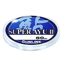 Фото 1 к товару Леска Sunline Super Ayu II 50 м HG #0,5 0.117 мм