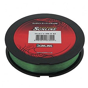 Леска Sunline Super Natural 100 м 0.405 мм 11,3 кг зеленая