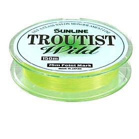 Фото 1 к товару Леска Sunline Troutist Wild 150 м 1,25/0,19 мм 2,5 кг