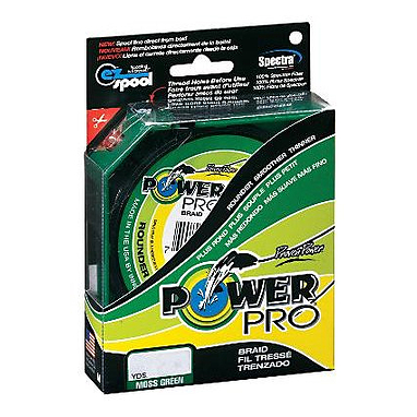 Шнур Power Pro 10lb (135 m 0.15 mm), 9 kg зеленый
