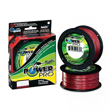 Шнур Power Pro 8lb (135 m 0.13 mm), 8 kg красный