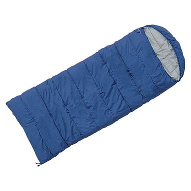 Мешок спальный (спальник) Terra Incognita Asleep Wide 200 правый темно-синий