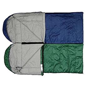 Фото 2 к товару Мешок спальный (спальник) Terra Incognita Asleep Wide 200 правый темно-синий