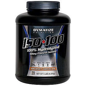 Фото 2 к товару Протеин Dymatize ISO-100 Carb Whey 5 lb (2,27 кг)