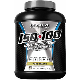 Фото 3 к товару Протеин Dymatize ISO-100 Carb Whey 5 lb (2,27 кг)