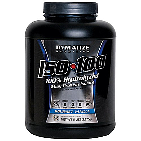 Фото 4 к товару Протеин Dymatize ISO-100 Carb Whey 5 lb (2,27 кг)