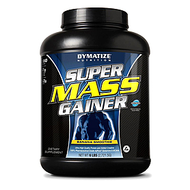 Фото 1 к товару Гейнер Dymatize Super Mass Gainer 6lb (2,7 кг)