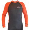 Футболка мужская с длинным рукавом Destroyer Outdoor Trekking (серая/оранжевая) - фото 1