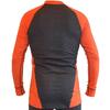 Футболка мужская с длинным рукавом Destroyer Outdoor Trekking (серая/оранжевая) - фото 2