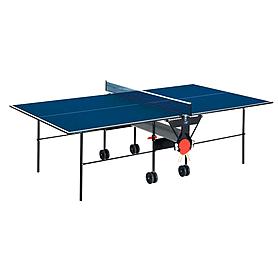 Стол теннисный Sunflex Hobbyplay Indoor (синий)