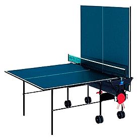 Фото 2 к товару Стол теннисный Sunflex Hobbyplay Indoor (синий)