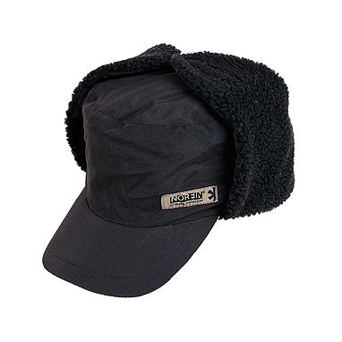 Шапка–ушанка Norfin Inari Black (черная)