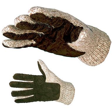 Перчатки шерстяные вязаные Salmo