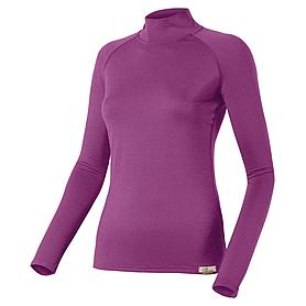 Термофутболка женская с длинным рукавом Lasting Sery (фиолетовая)
