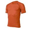Термофутболка унисекс Lasting MTK (оранжевая) - фото 1