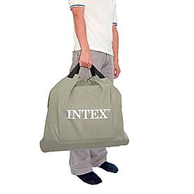 Фото 4 к товару Кровать надувная двуспальная Intex 66958 Ultra Plush Bed (203х152х46 см)