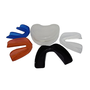Капа однорядная Сердечко в пластиковой упаковке черная