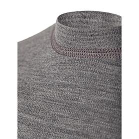 Фото 3 к товару Термофутболка мужская с длинным рукавом Norveg Soft Shirt (серая меланж)