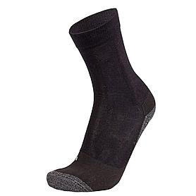 Носки унисекс Norveg Cool Alpine (черно–серые меланж)