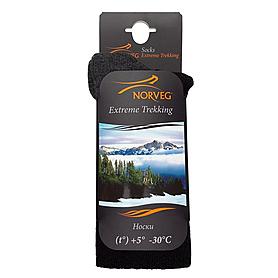 Фото 4 к товару Носки унисекс Norveg Extreme trekking (черные)