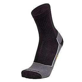 Носки унисекс Norveg Forester (черно–серые)