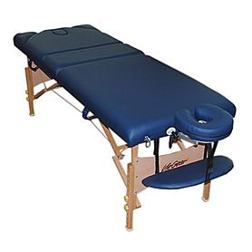 Фото 2 к товару Стол массажный Life Gear Beatrix синий
