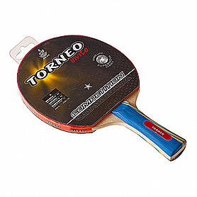 Фото 1 к товару Ракетка для настольного тенниса коническая Torneo Invite Competition 2*