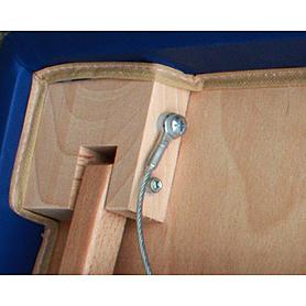 Фото 4 к товару Стол массажный SOL Comfort Art of Choice синий