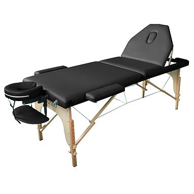 Стол массажный ROS Art of Choice черный