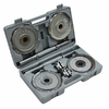 Гантели наборные хромированные FitLogic 2 шт. по 10 кг - фото 1