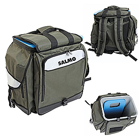 Фото 1 к товару Ящик-рюкзак зимний Salmo H-2061