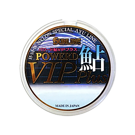 Леска Sunline Powered Ayu Vip Plus 50 м 0,125/0,058 мм