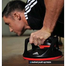 Фото 3 к товару Упоры для отжиманий поворотные Adidas