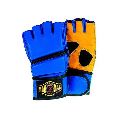 Перчатки без пальцев кожаные Mad Max
