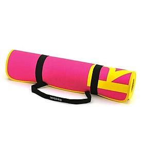 Фото 2 к товару Коврик для фитнеса Reebok розовый 6 мм