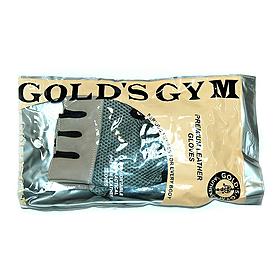 Фото 3 к товару Перчатки без пальцев Gold Gym с сеткой
