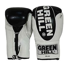 Перчатки боксерские кожаные Green Hill Bridg