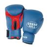 Перчатки боксерские Green Hill Silver синие - фото 1